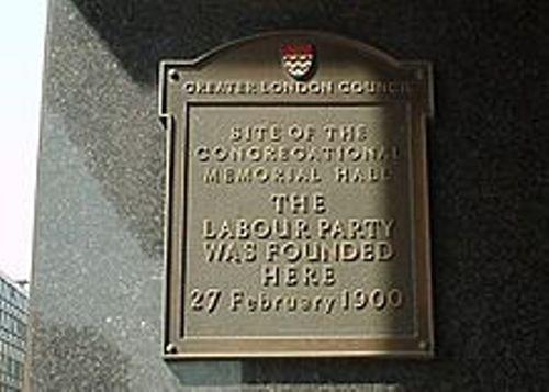 labour party plaque
