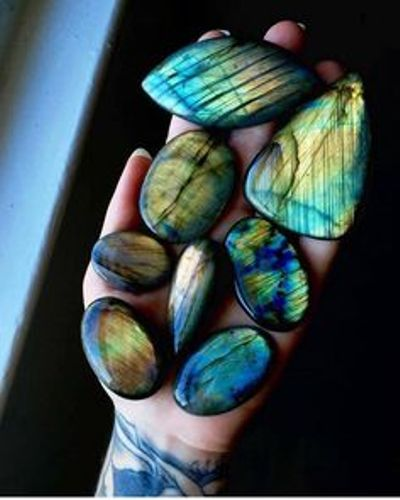 labradorite colors